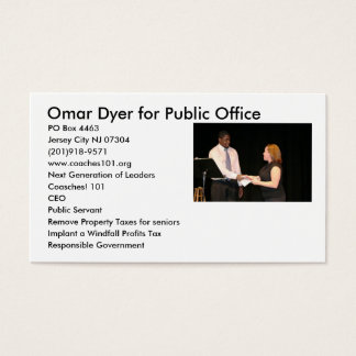 Next Generation of Leaders Business Card