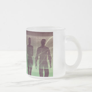 Next Generation of Workers Waiting to Join Frosted Glass Coffee Mug
