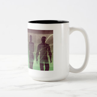 Next Generation of Workers Waiting to Join Two-Tone Coffee Mug