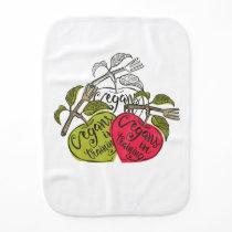 Next Generation Vegans Baby Burp Cloth