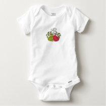 Next Generation Vegans Baby Onesie