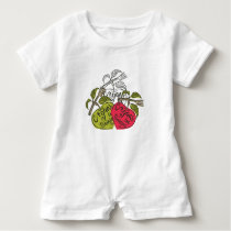 Next Generation Vegans Baby Romper