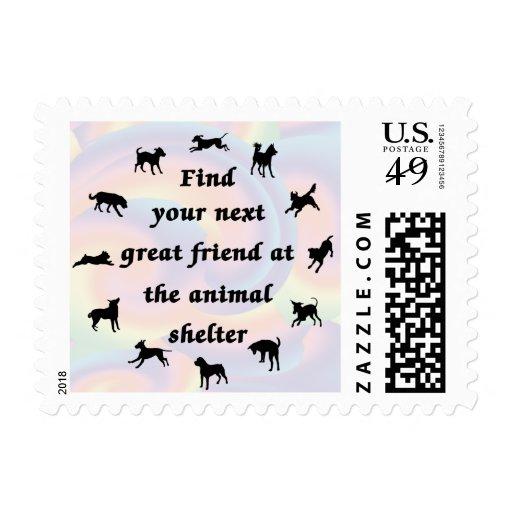 Next Great Friend Stamp