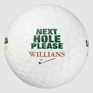 next hole please golf balls