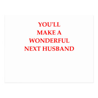 next husband postcard