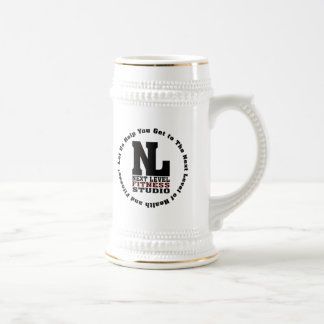 Next Level Fitness Studio Emblem3 Beer Stein