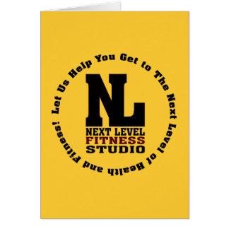 Next Level Fitness Studio Emblem3 Card
