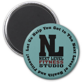 Next Level Fitness Studio Emblem3 Magnet