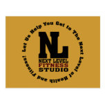 Next Level Fitness Studio Emblem3 Postcard