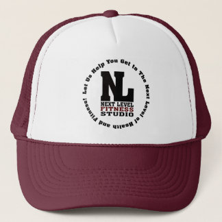 Next Level Fitness Studio Emblem3 Trucker Hat