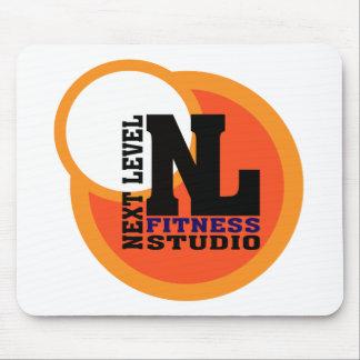 Next Level Fitness Studio Emblem 2 Mouse Pad