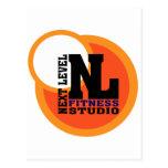 Next Level Fitness Studio Emblem 2 Post Card
