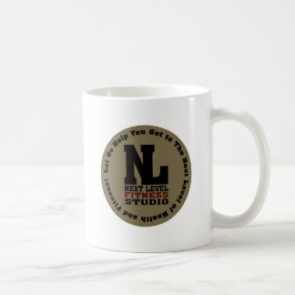 Next Level Fitness Studio Emblem Coffee Mug