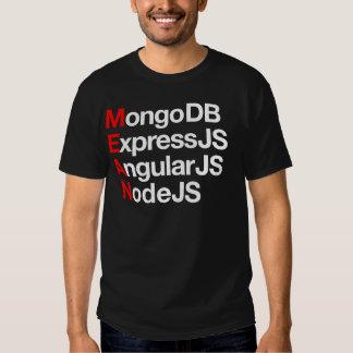 Next level full stack development. shirt