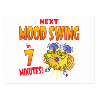 Next Mood Swing Postcard