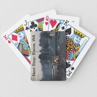 Next Stop, Blaine, WA  playing cards