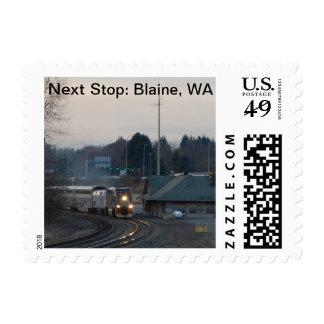 Next Stop, Blaine, WA  postage stamps
