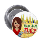 Next Stop Italy Button