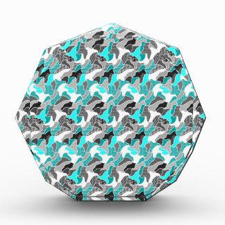 Next sweet doodle,aqua acrylic award