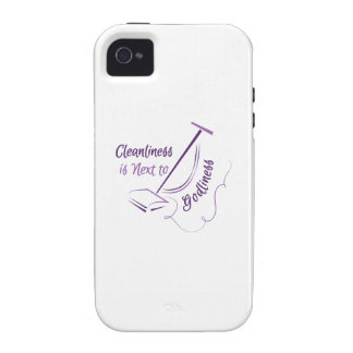 Next To Godliness iPhone 4/4S Covers