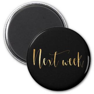 Next Week Planner Home Office Organisation Glam Magnet