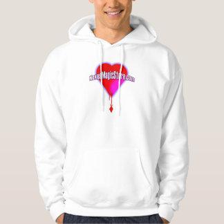 Nexus Magic Bleeding Heart into a Diamond Hoodie