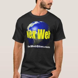 NexWeb, NexWebSites.com, black T-Shirt