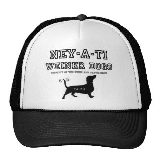 Ney-a-ti Weiner Dogs Hat