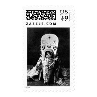 Nez Perce Baby Postage Stamps