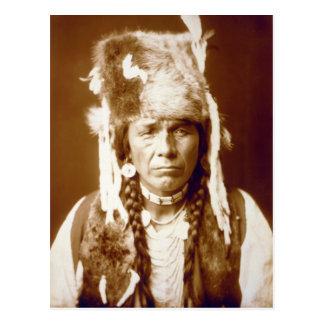 Nez Percé con el furcap Postal