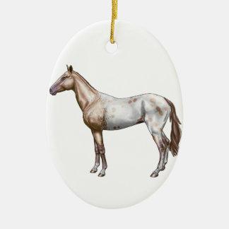Nez Perce Horse Ceramic Ornament