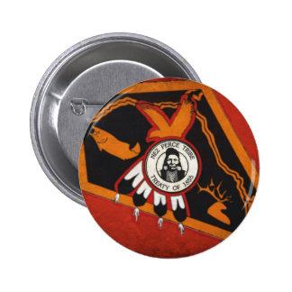 Nez Perce Indians Pinback Button