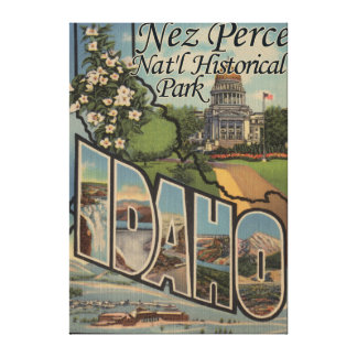 Nez Perce Nat'l Historical Park, ID Canvas Print