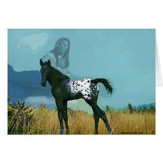 Nez Perce Pony Card