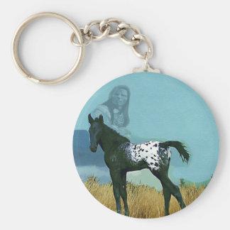 Nez Perce Pony Keychain