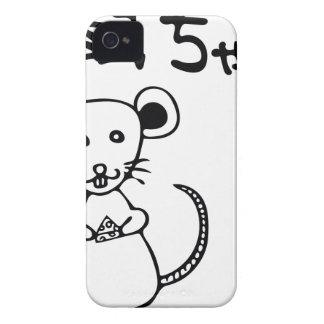 Nezumi.chan.ai iPhone 4 Case-Mate Case