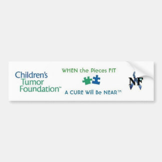 NF-AWARENESS - WHEN the Pieces FIT ...... Car Bumper Sticker