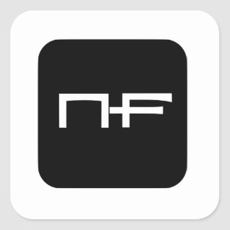 NF Circle Stickers