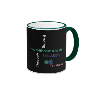 (NF-Crossword) Mug /Green-(Customize it with name)