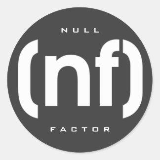 [nf] logo round sticker