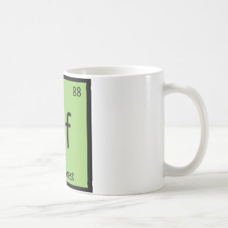 Nf - New Forest Pony Chemistry Element Horse Coffee Mug