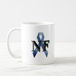 NF- SYMBOL  ( Mug  Symbol Only Blue Border)