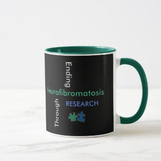 NF- SYMBOL ( NEW SLOGAN) Mug /Green Handle