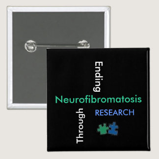 NF - We will find a cure with research! Button