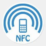 NFC logo Round Sticker