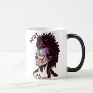 NFDY Mohawk Logo Morphing Mug! 11 Oz Magic Heat Color-Changing Coffee Mug