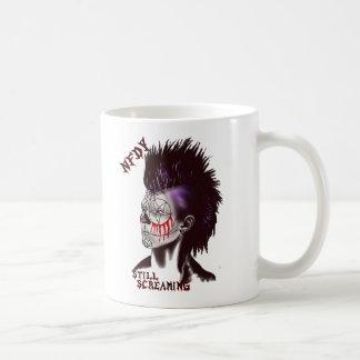 NFDY Mohawk Twin logo mug