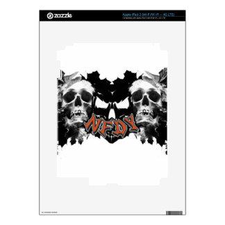 NFDY Tri-Skull iPad 3 Skin