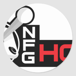 NFG HON CLASSIC ROUND STICKER
