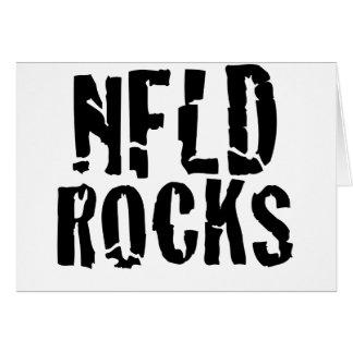 Nfld Rocks Greeting Cards